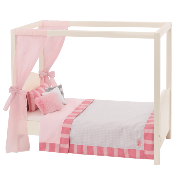BD37395-My-Sweet-Canopy-Bed-Pink-Main@3x  sc 1 st  Our Generation & My Sweet Canopy Bed - Pink - Our Generation Dolls