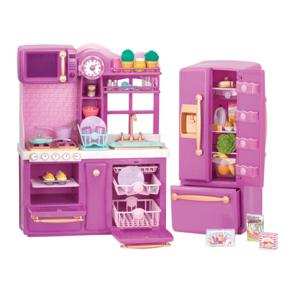 Gourmet kitchen set our generation dolls for Kitchen set png
