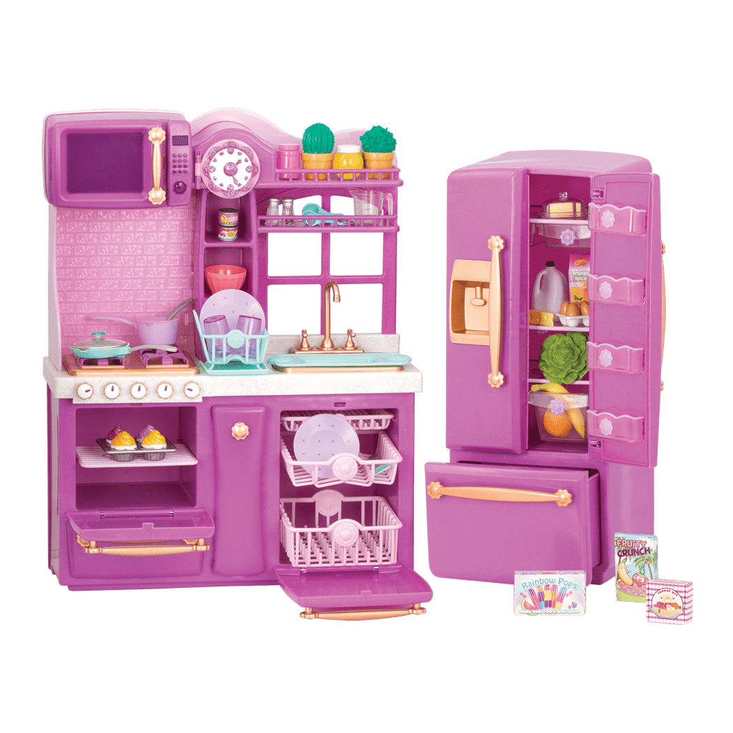 Our Generation Kitchen Set: Our Generation Dolls