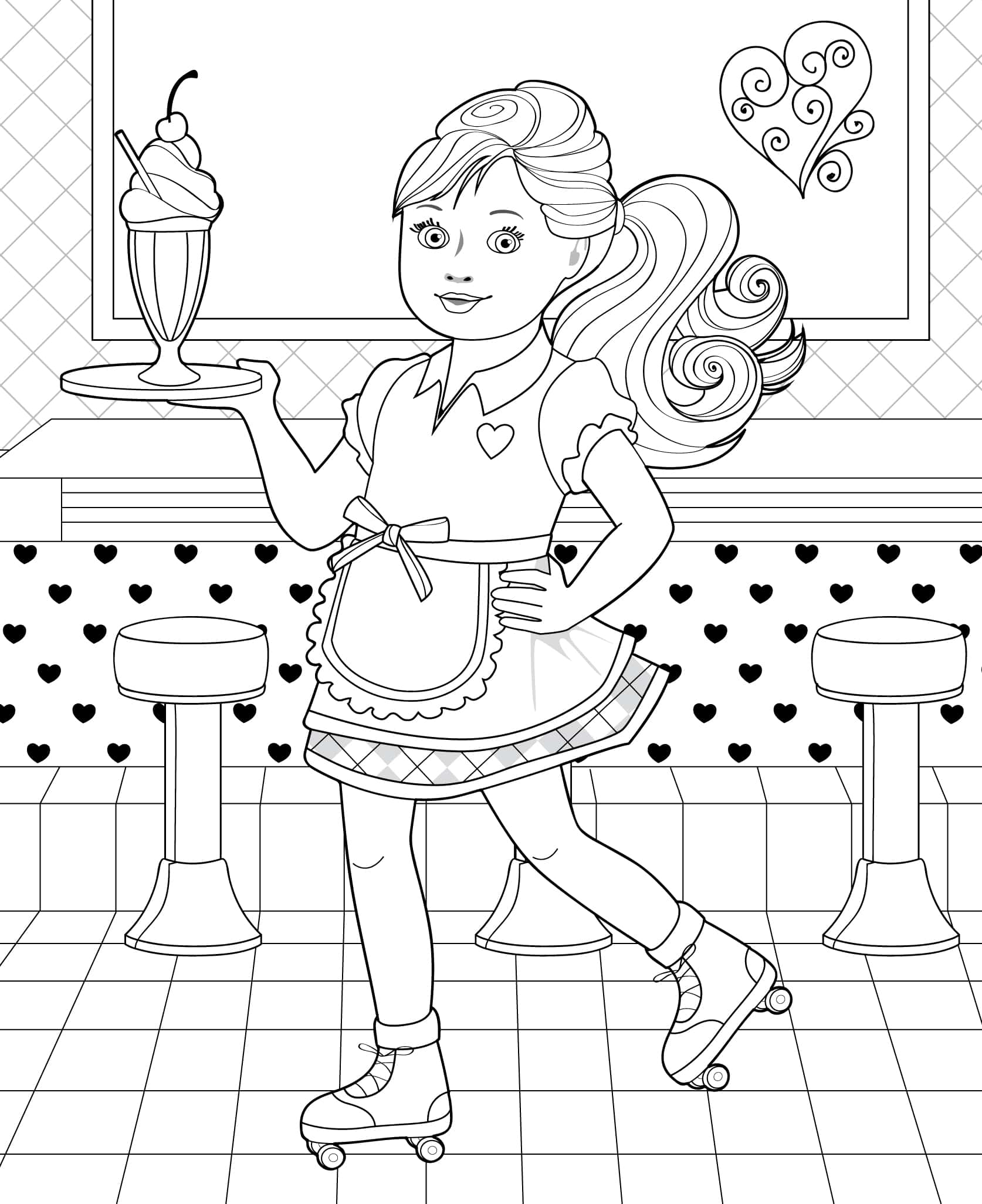 journey girl coloring pages - photo#19