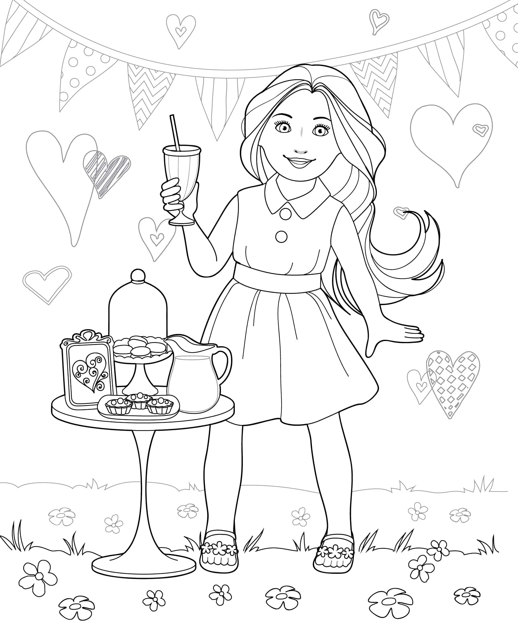 journey girl coloring pages - photo#5